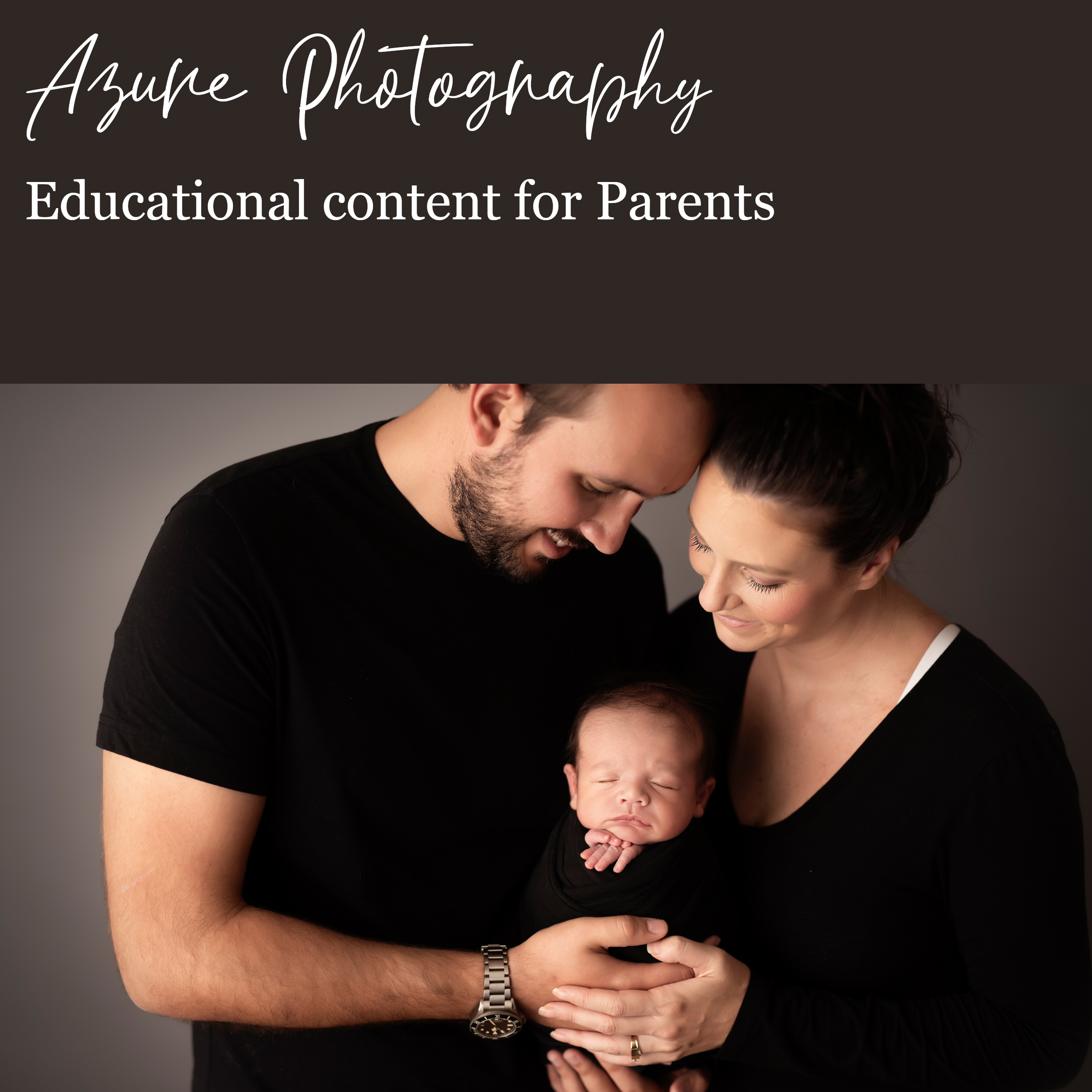 Educational content for parents (front page)