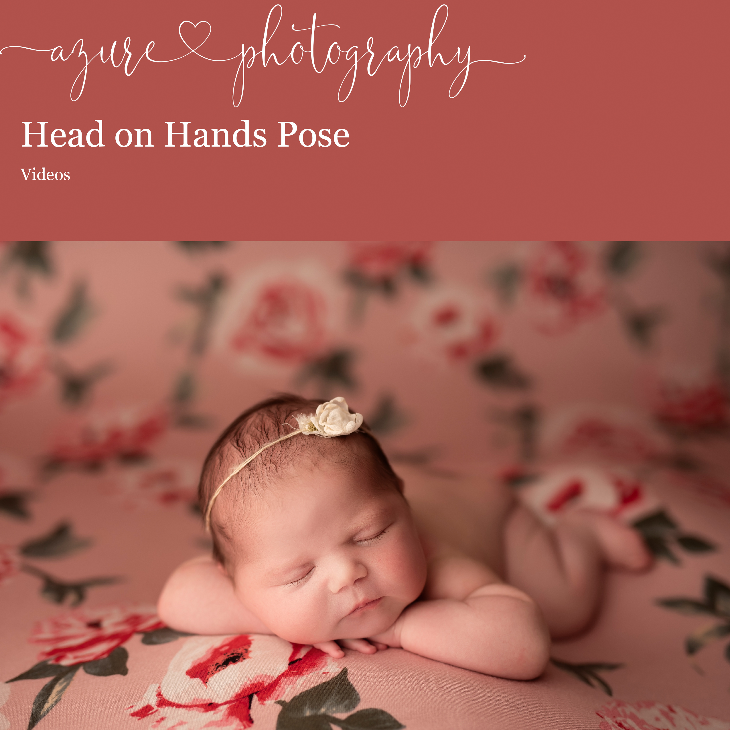 Head on hands Pose Piper