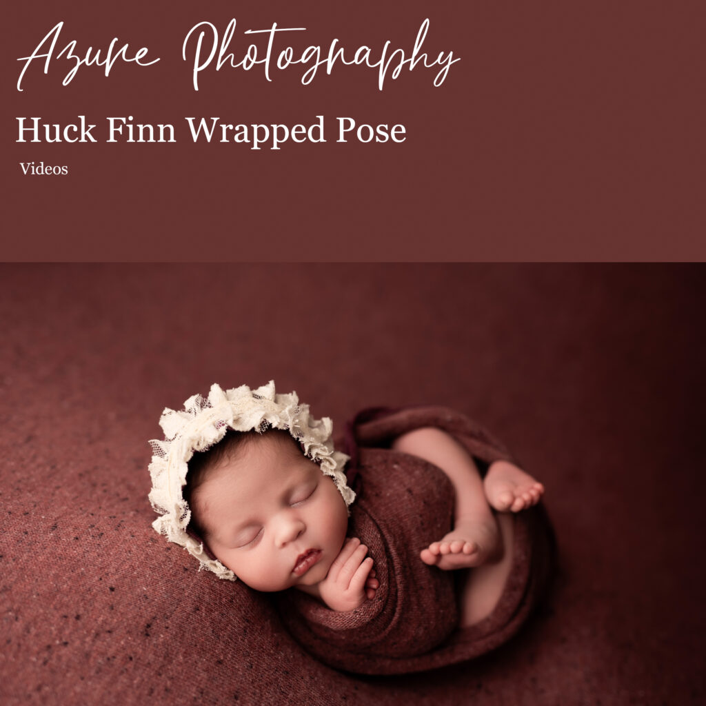 Huck Finn Wrapped Pose