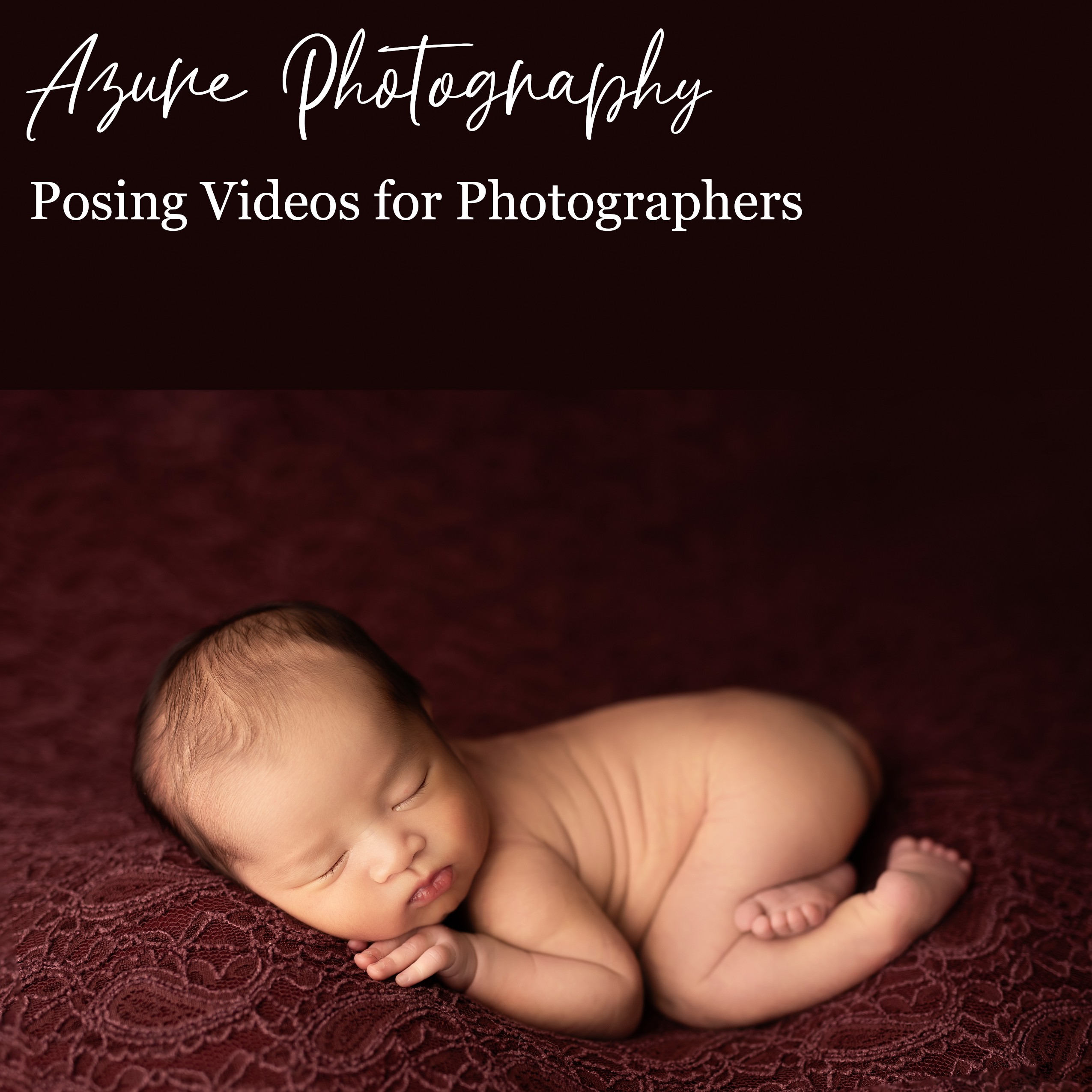 Posing videos for Photographers (front page)